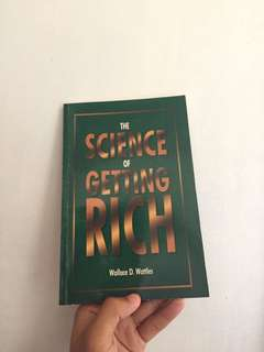 """The Science of Getting Rich"" by Wallace D. Wattles"