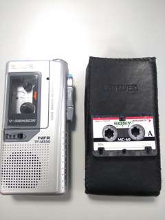Aiwa micro cassette recorder Model no:TP-M330