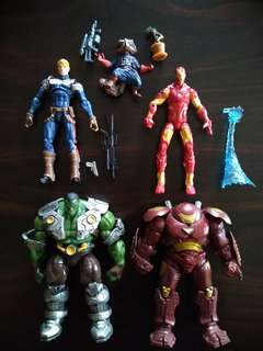Marvel Universe Set Avengers Iron Man Hulk Captain America