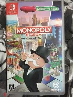 Switch 二手 日版 monopoly