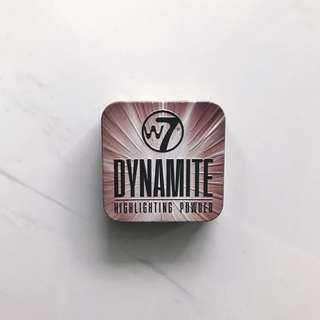W7 Dynamite Highlighting Powder