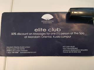 50% voucher The Spa MO