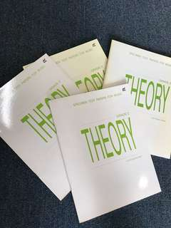 Music theory Specimen test grade 2