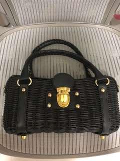 Stylish Rattan Handbag