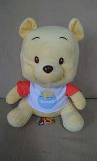 """BNWT - 10.5"""" Pooh Bear Plushie"""