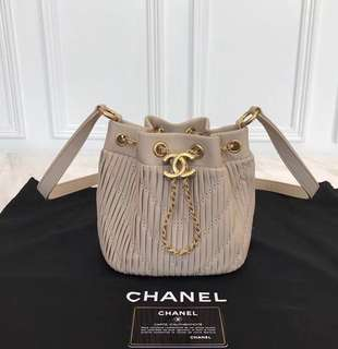 Chanel Drawstring Bag SS 2018