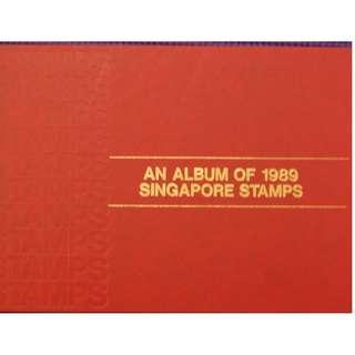Singapore 1989 Annual Stamp Album