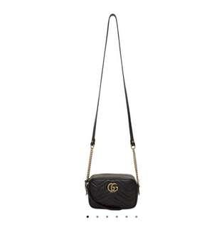 🔺現貨🔺GG Marmont Small Matelassé Shoulder Bag