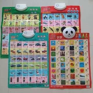 Educational Chinese English Sound Charts