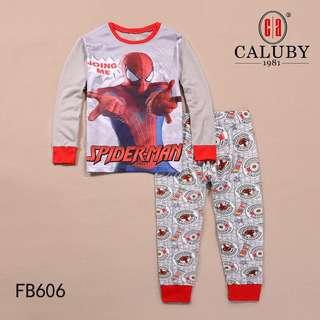 Spiderman Pyjamas grey colour