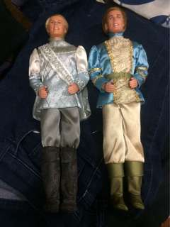 Princes Ken dolls from the Barbie Movies