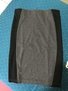 Forever 21 pencil cut skirt tag mango uniqlo h&m zara f21
