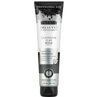 FREEMAN BEAUTY INFUSION CHARCOAL & PROBIOTICS CLEANSING CLAY MASK 4 OZ