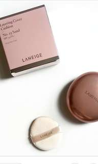 Laneige layer cushion cover in N23 Sand