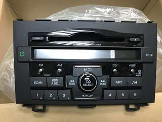 CRV radio set New part