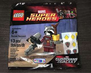 Lego Guardians of the Galaxy, Exclusive Rocket Raccoon Figure