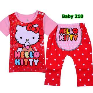 INSTOCK Hello Kitty baby pyjamas set