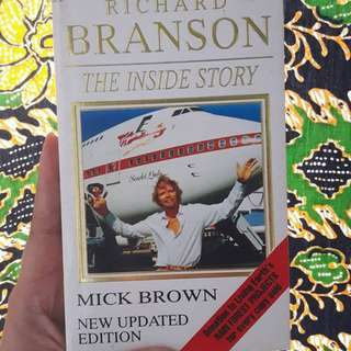 Richard Branson's The Inside Story.