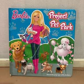 buku anak barbie project pop art