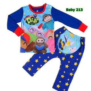 INSTOCK Didi and friends baby pyjamas set