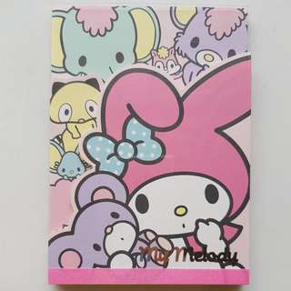 My Melody Note Pad