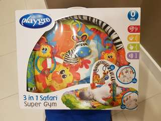 Playgro 3-in-1 Safari Playmat