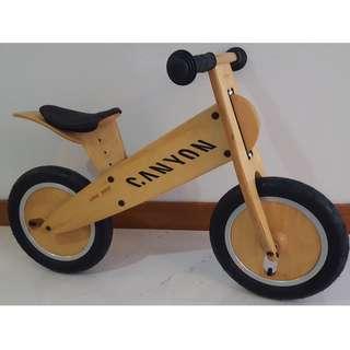 KOKUA LIKEaBIKE with CANYON branding (Wooden Balance Bike)
