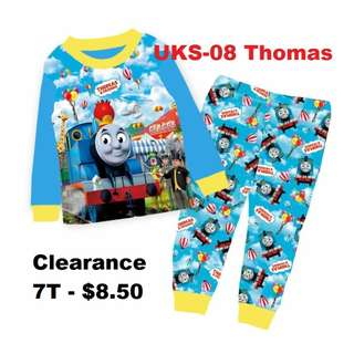 Clearance---Thomas & Friends Long Sleeve Pyjamas