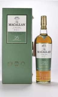Macallan fine oak 25