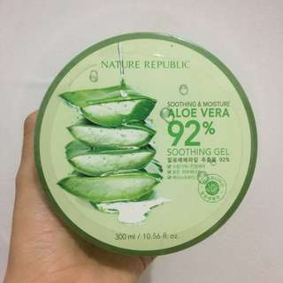 (NEW) Nature Republic Aloe Vera 92% Soothing Gel