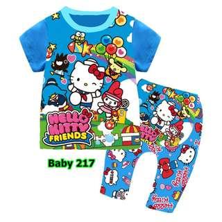 Hello Kitty baby pyjamas set
