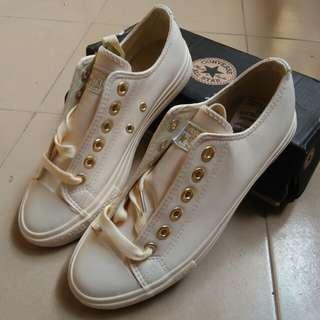Converse Beige Leatherette