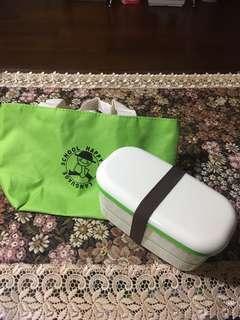🚚 雙層餐盒(附餐袋)