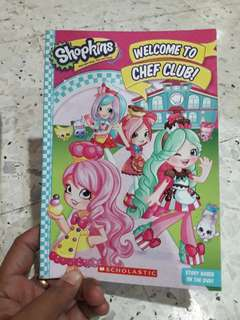 Shopkins Welcome To Chef Club