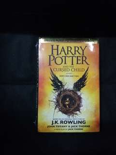 Harry Potter And The Cursed Child (  Postage Included )