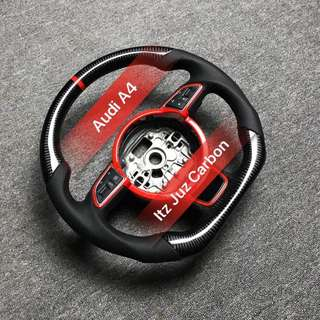 Audi A7 FSI Carbon Steering