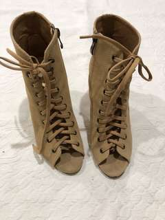 Laced Wedges