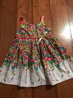 Heartworks 24mos Ribbon Floral Dainty Dress