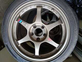 Rims SSR Type-C RS 17inch  competition light weight
