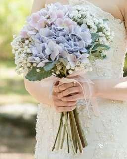 新娘絲花花球