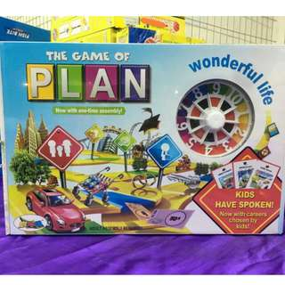 The Game of Plan (The Game of Life boardgame bootleg)