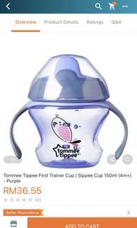 Tommie tippie weaning Sippee cup