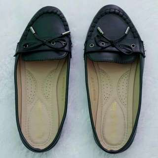 Black Half Loafers Shoes