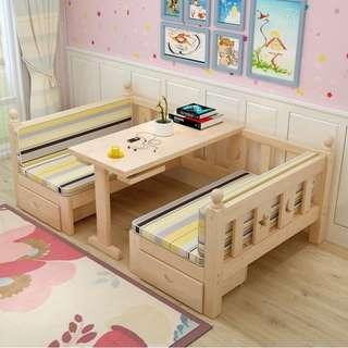 免費送 床墊 實木床 單人床 可變 梳化 實木梳化 實木椅 實木 床 桌 椅 枱  180416