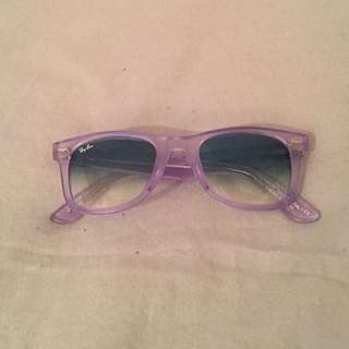 Genuine Ray Ban Wayfarer - Ice POP Grape