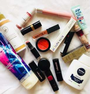 MAKE UP & SKIN CARE PRODUCTS SALE!