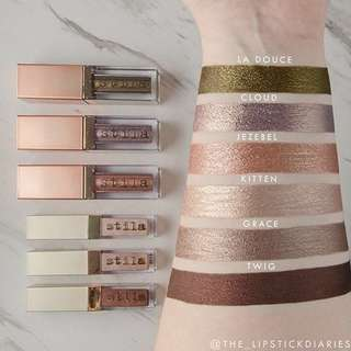 Stila Shimmer & Glow liquid eyeshadow - Cloud & Kitten