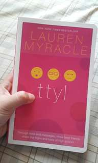 TTYL by lauren myracle