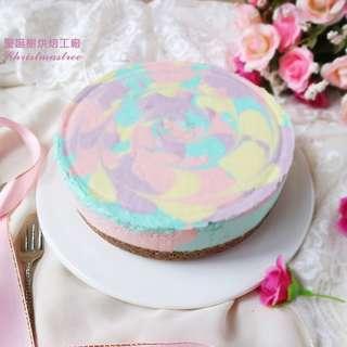 彩霞優格生乳酪蛋糕(6寸)