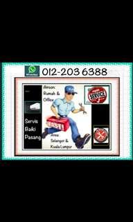 Repair Service Pasang Aircon / Baiki Servis Install Aircond / Air-conditioner Sales